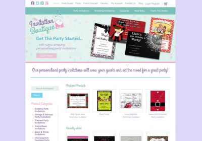 The Invitation Boutique