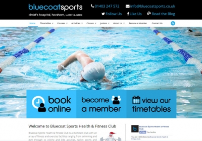 Bluecoats Sports Website