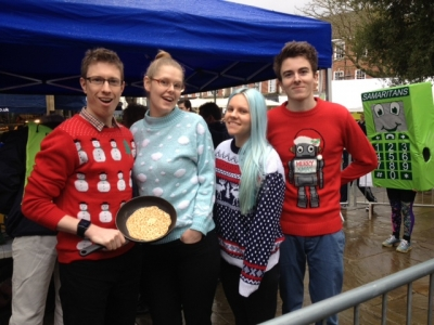 Pancake Race Team
