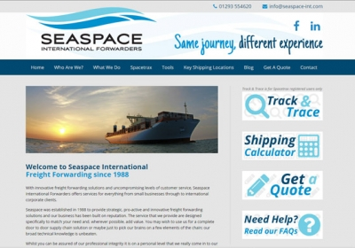 Seaspace website