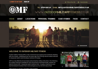 Outdoor Military Fitness