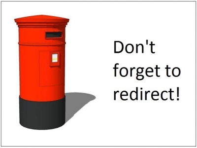 Dont forget to redirect